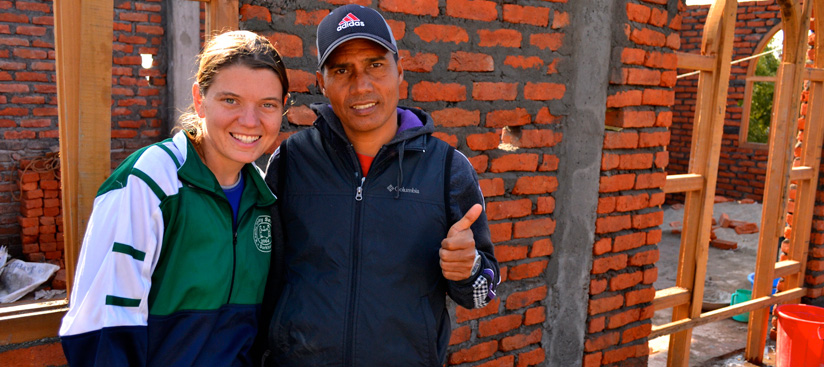 Maggie Doyne and Top Malla, co-Chairs of Kopila