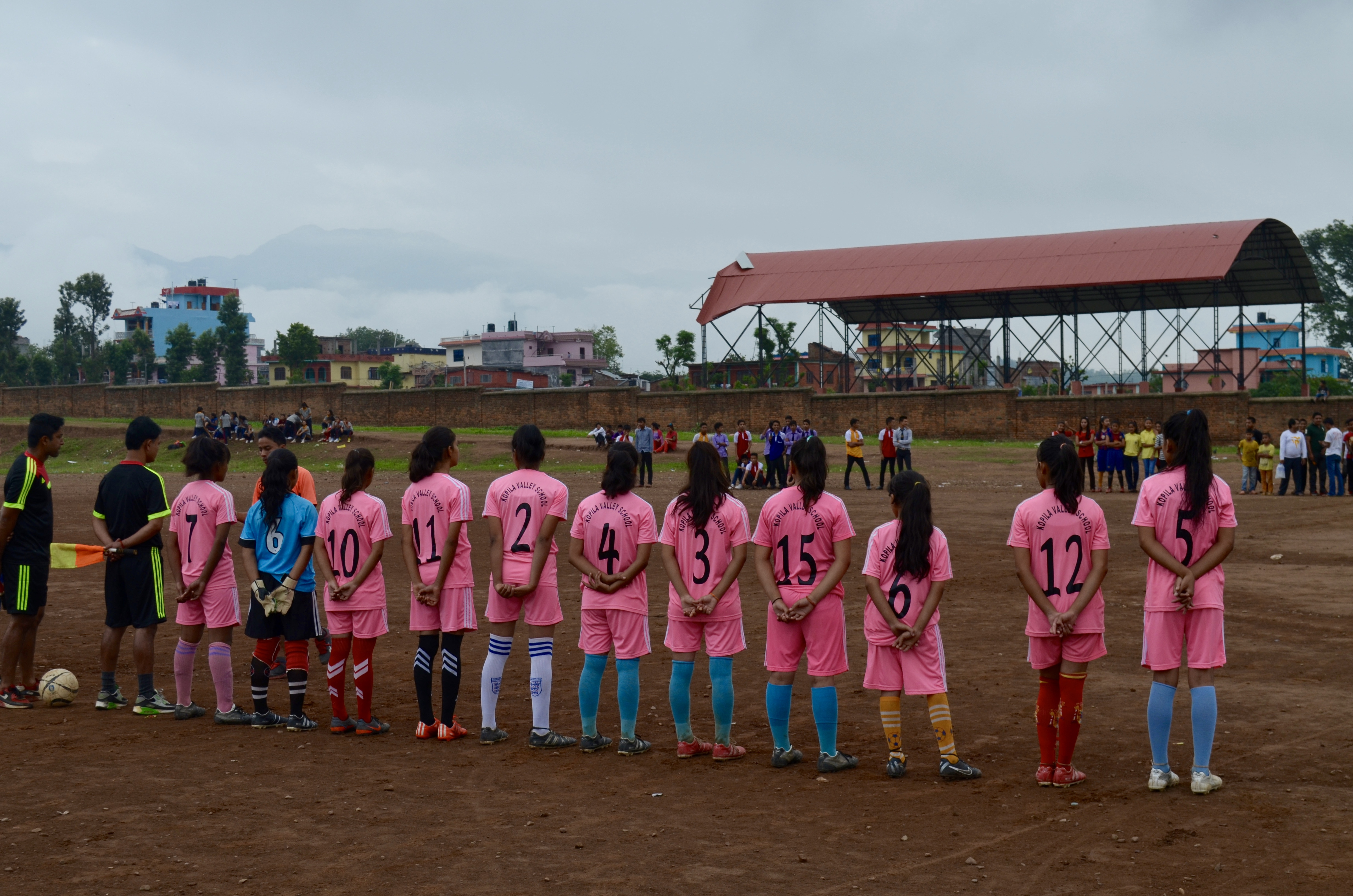 The Kopila Valley girls soccer team.