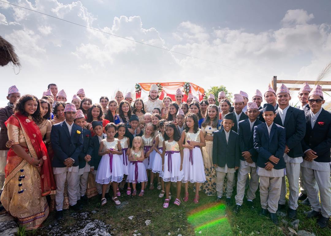 Wedding party of 50 kiddos!